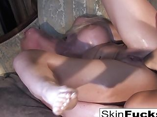 Skin's Sapphic Dr. Who Assfuck With Leya