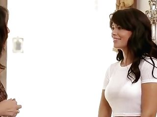Ava Dalush And Melissa Monet Girl-on-girl Babysitters Scene Two
