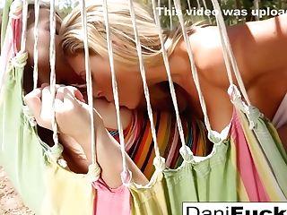 Dani Licks And Thumbs Her Sexy Friend - Dani Daniels