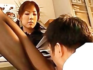 Sweet Hiromi Aoyama Getting Cunt Sucked Part2