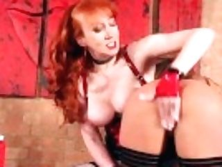 """matures Ginger-haired Redxxx Fucks Her Huge-boobed Gf"""