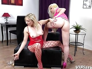 Barbie Sins And Brittany Bardot In Hd Pissing Movie Dual Trouble At Vipissy