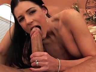 Black Haired Mummy India Summer Rails On Hard Beef Whistle