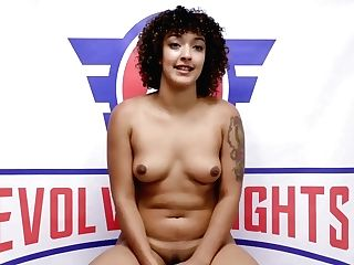 Afro Honey And Red-haired Teenage Girly-girl Fight