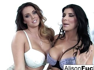 Alison Tyler & Romi Rain In Alison Tyler & Romi Rain Fuck Each Other For The Very First Time - Alisontyler