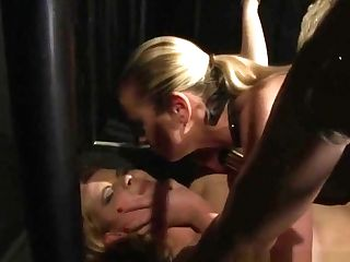 Lesbo Domination Honey Playing Corded Subs Moist Fuckbox