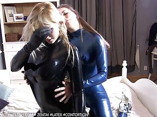 A Horny Little Movie Of Barbara And Dunja Pampering Themselves