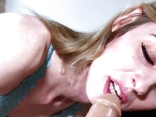 Strap On Butt-fucked Until I Gape
